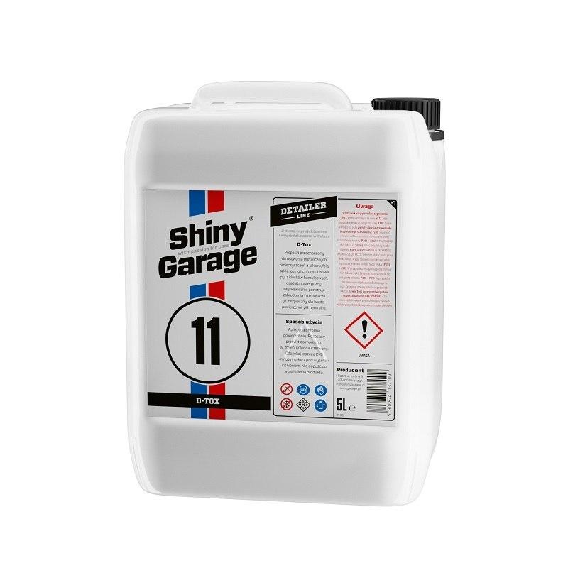 Shiny Garage D-Tox 5L (Deironizer) - GRUBYGARAGE - Sklep Tuningowy